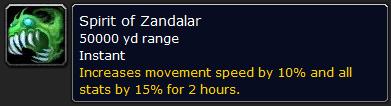 Spirit of Zandalar