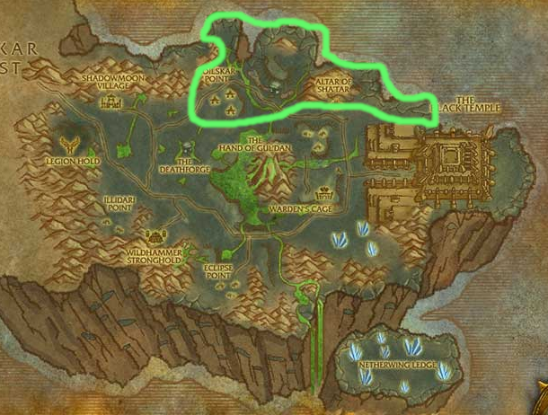 Tbc Skinning Guide Cobra Scales Farming Location Shadowmoon Valley