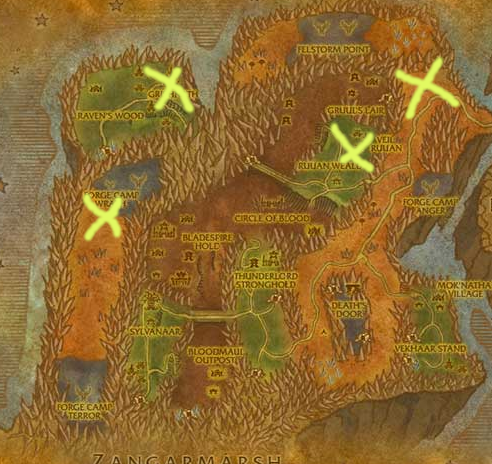 Tbc Skinning Guide Fel Scales Farming Locations Blade's Edge