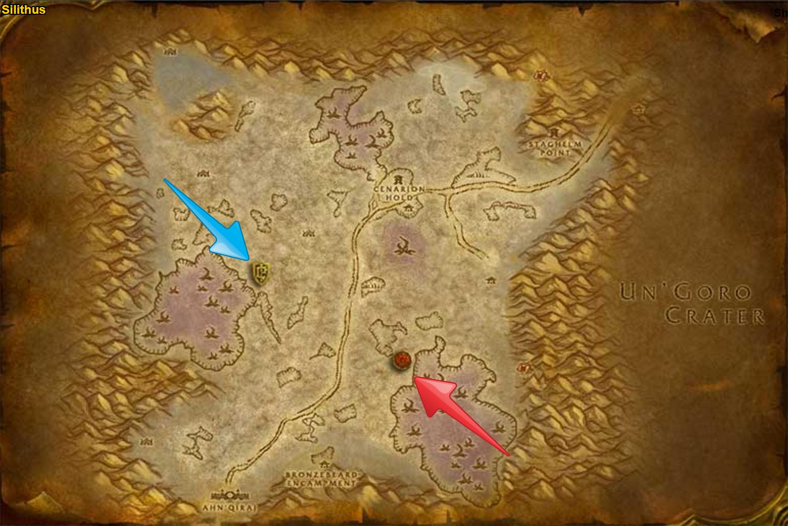 The Silithyst Must Flow world PvP event