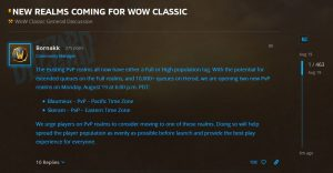 Two New Pvp Realms Added To Us
