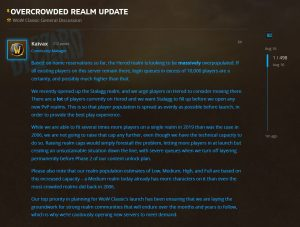 Update On Realm Population For Herod