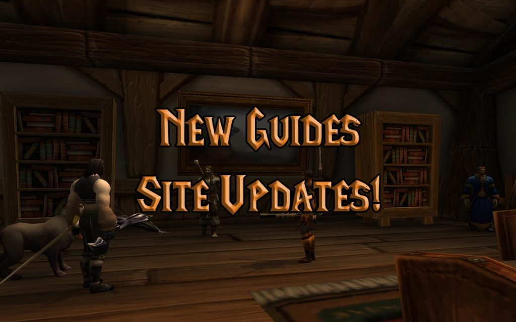 Warcraft Tavern New Guides And Site Updates