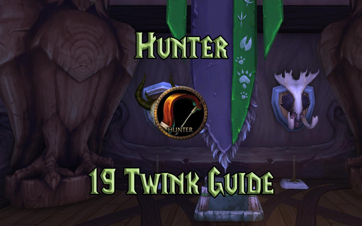 Wow Classic 19 Twink Hunter Guide