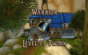Wow Classic 19 Twink Warrior Guide