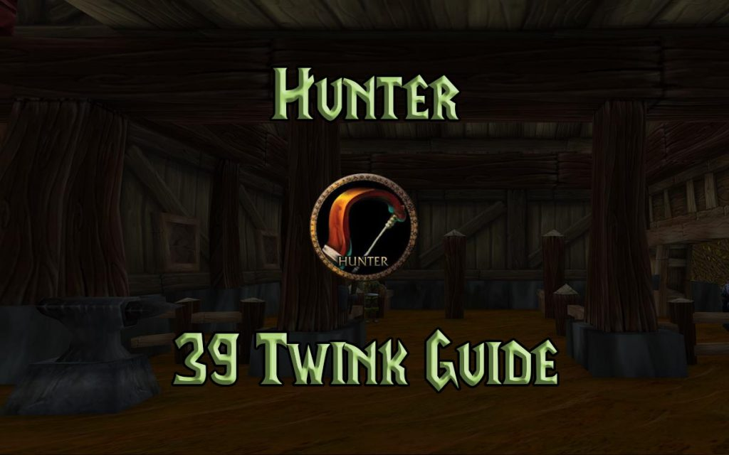 Wow Classic 39 Hunter Twink Guide
