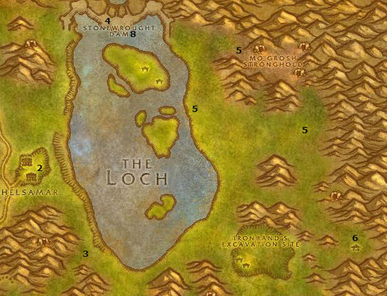 Wow Classic Alliance Leveling Guide 22 22 Loch Modan