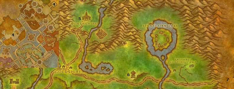 Wow Classic Alliance Leveling Guide 22 23 Elwynn Forest