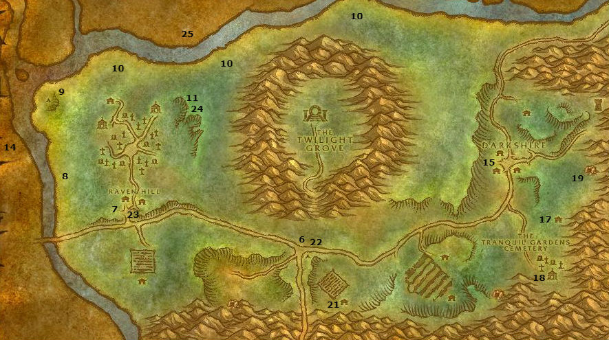 Wow Classic Alliance Leveling Guide 23 24 Duskwood