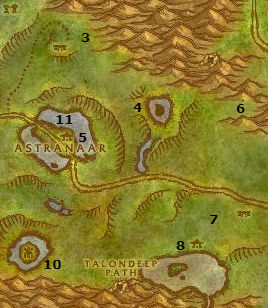 Wow Classic Alliance Leveling Guide 24 25 Ashenvale