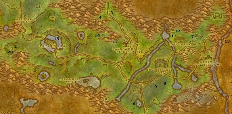 Wow Classic Alliance Leveling Guide 27 28 Ashenvale