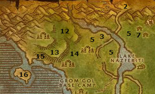 Wow Classic Alliance Leveling Guide 32 33 Stranglethorn Vale