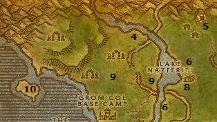 Wow Classic Alliance Leveling Guide 35 36 Stranglethorn Vale