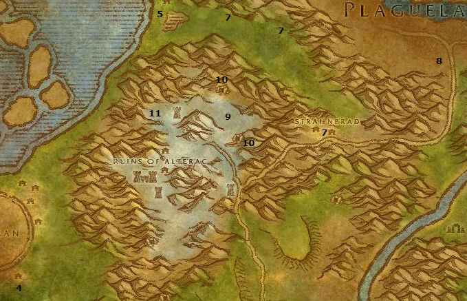 Wow Classic Alliance Leveling Guide 37 38 Alterac Mountains