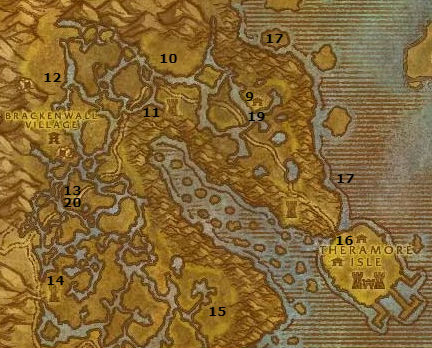 Wow Classic Alliance Leveling Guide 38 38 Dustwallow Marsh