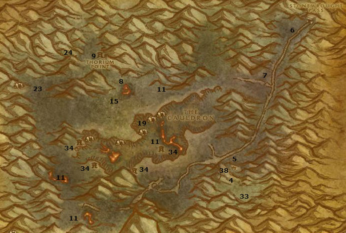 Wow Classic Alliance Leveling Guide 47 48 Searing Gorge