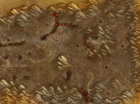 Wow Classic Alliance Leveling Guide 51 52 Burning Steppes