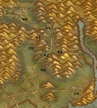 Wow Classic Alliance Leveling Guide 56 57 Hearthglen