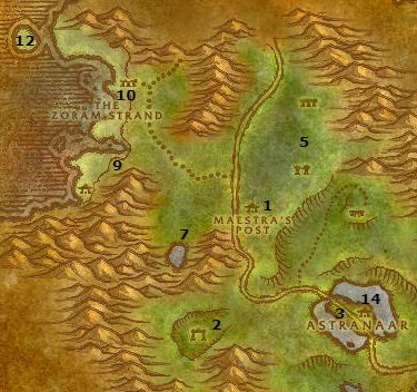 Wow Classic Alliance Leveling Guide Ashenvale