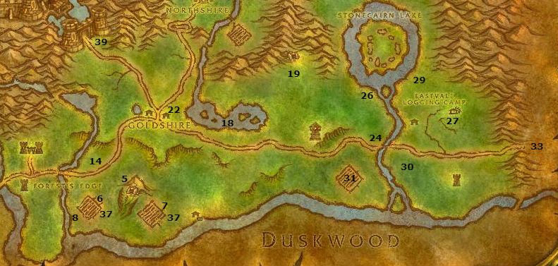 Wow Classic Alliance Leveling Guide Elwynn Forest