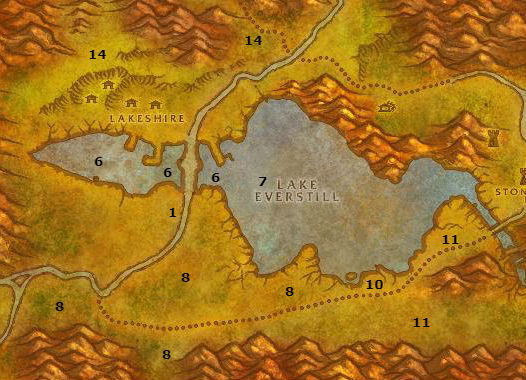 Wow Classic Alliance Leveling Guide Redridge Mountains