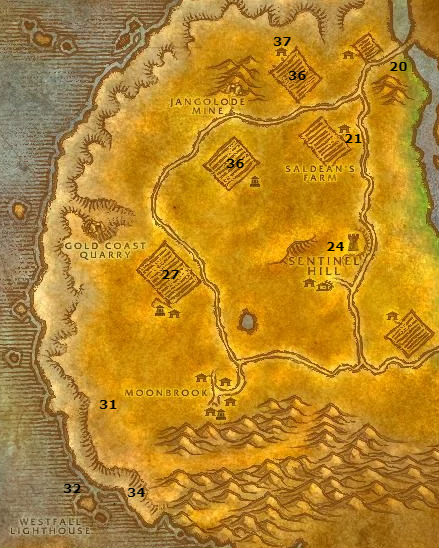 Wow Classic Alliance Leveling Guide Westfall