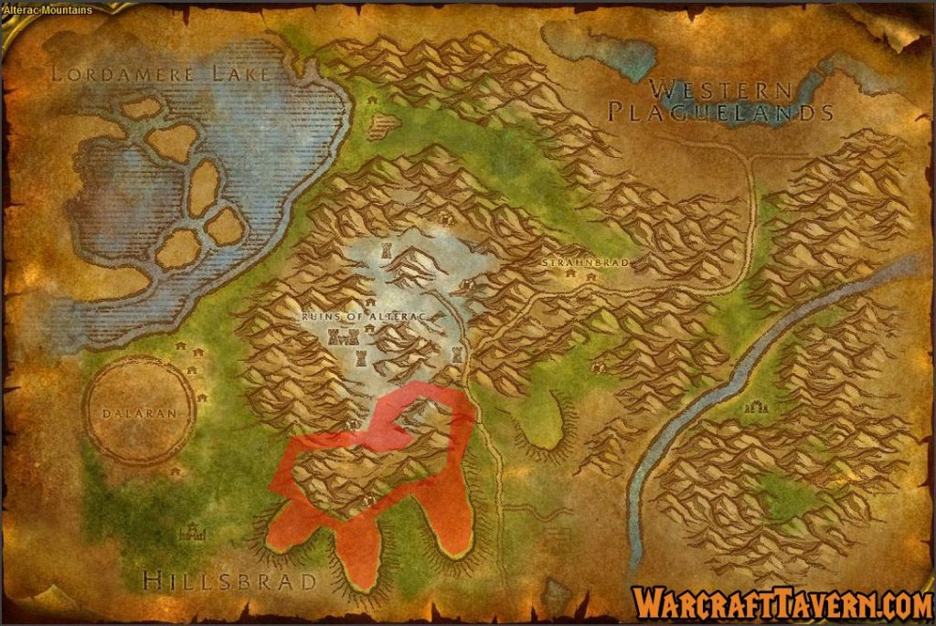Wow Classic Alterac Mountains Skinning Locations