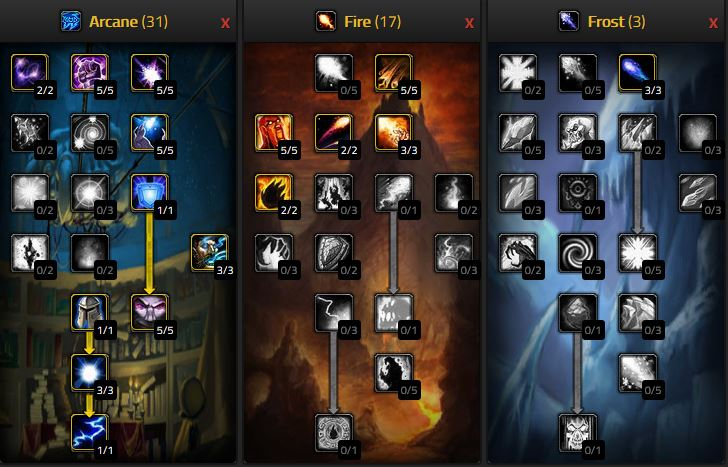 Wow Classic Arcane Mage Pve Dps Guide Warcraft Tavern