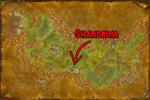 WoW Classic Cooking Guide - Shandrina Location