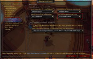 Wow Classic Deadly Boss Mods Addon 1.13