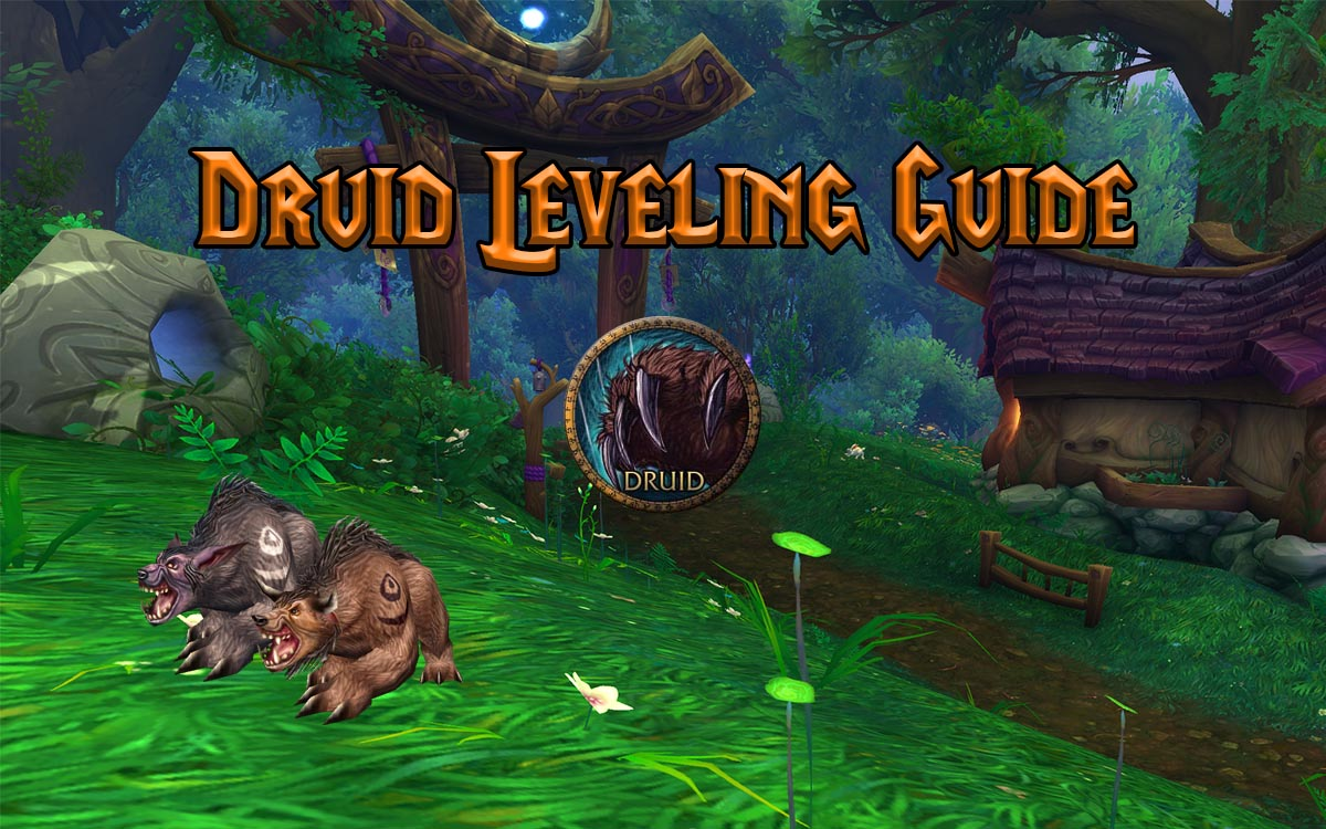 Wow Classic Druid Leveling Guide Warcraft Tavern
