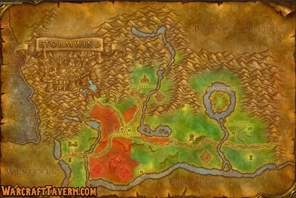 Wow Classic Elwynn Forest Skinning Locations