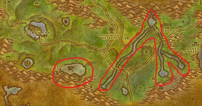 Wow Classic Fishing Horde Ashenvale