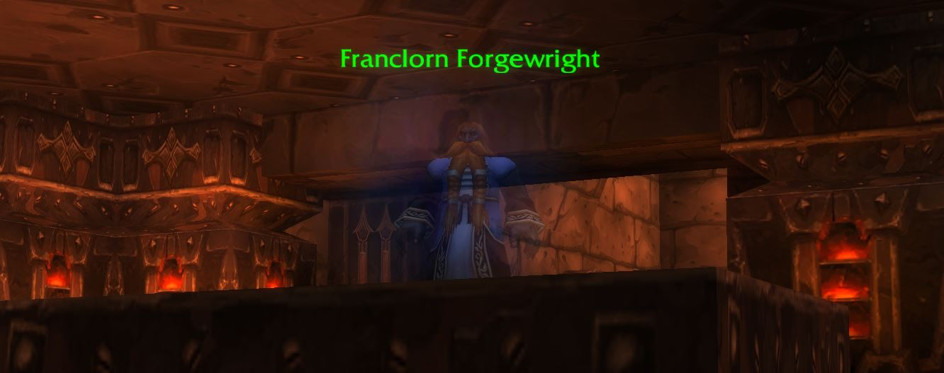 Wow Classic Franclorn Forgewright