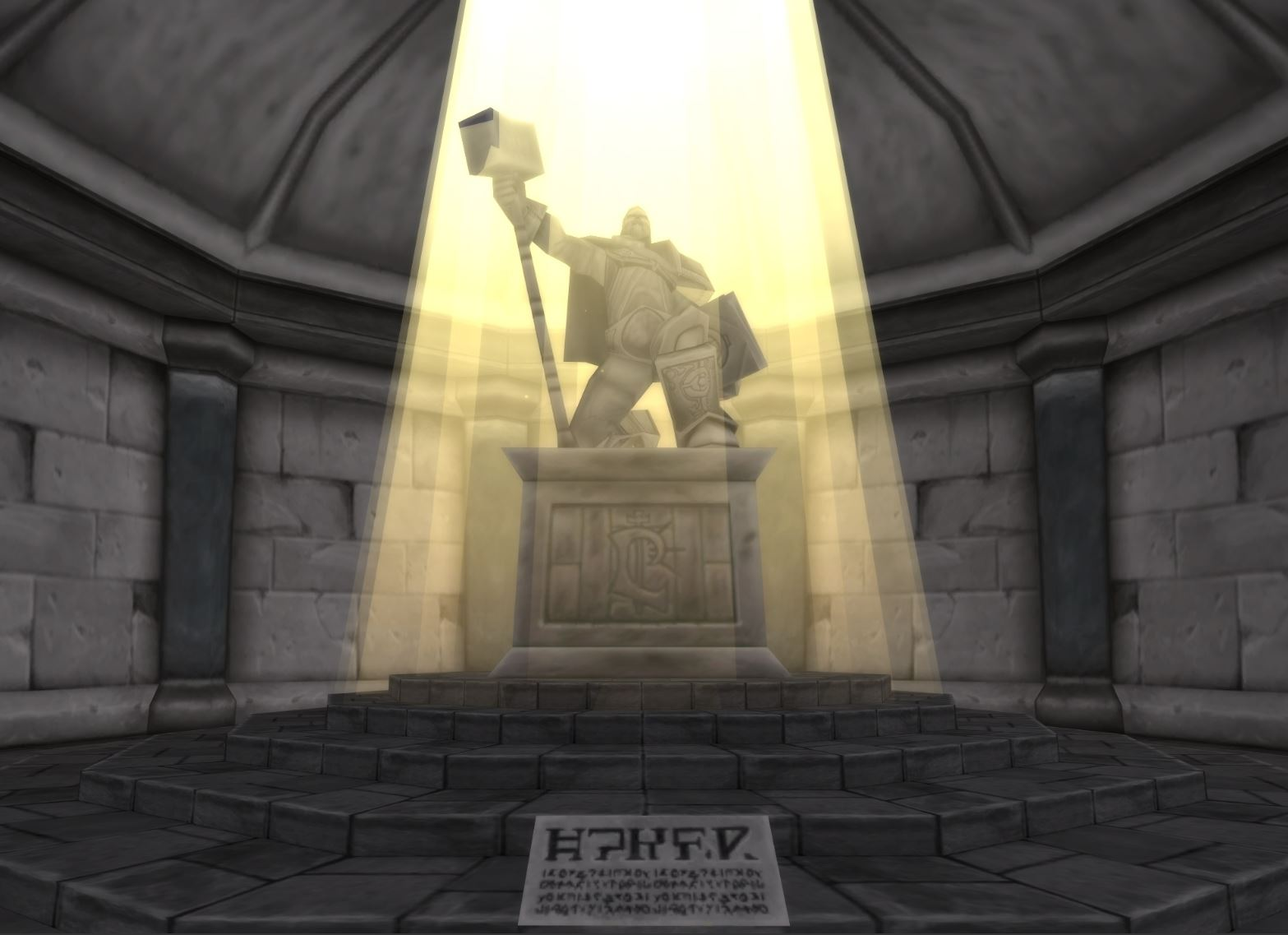 Wow Classic Harvest Festivl Guide Images Uther's Statue