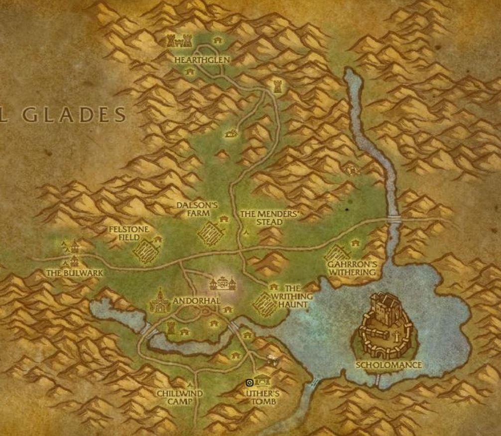 Wow Classic Harvest Festivl Guide Images Uther's Tomb