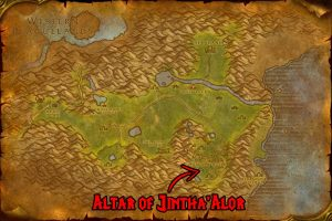 WoW Classic Hinterland - Altar of Jintha'Alor