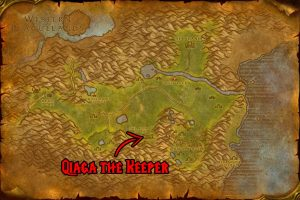 WoW Classic Hinterlands - Qiaga the Keeper