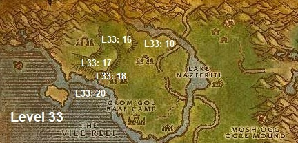 Wow Classic Horde Leveling Guide 33 Stranglethorn Vale