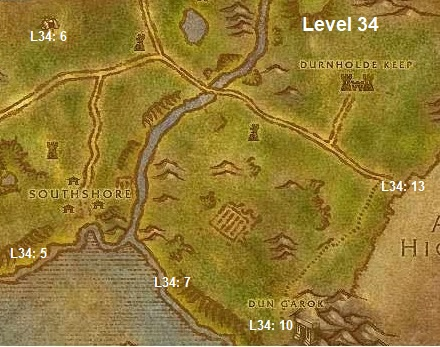 Wow Classic Horde Leveling Guide 34 Hillsbrad Foothills