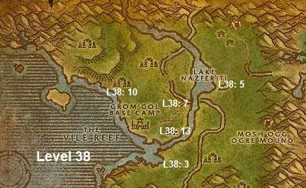 Wow Classic Horde Leveling Guide 38 Stranglethorn Vale