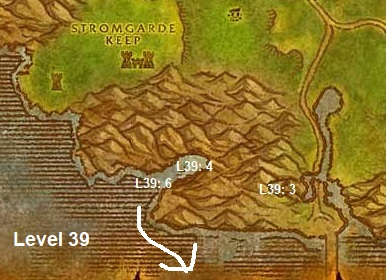 Wow Classic Horde Leveling Guide 39 Arathi Highlands