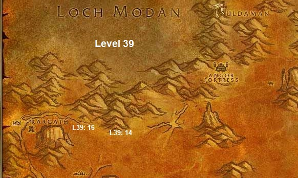 Wow Classic Horde Leveling Guide 39 Badlands