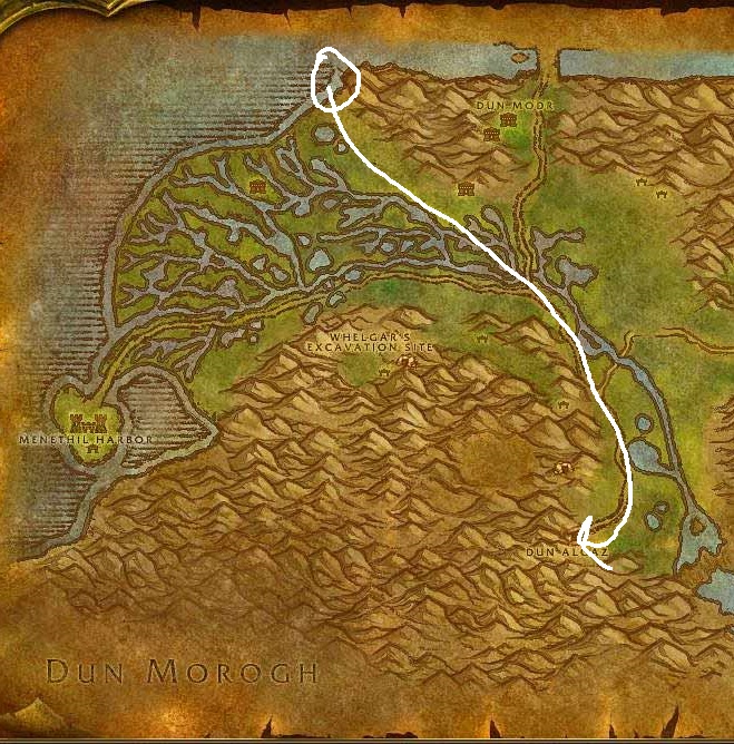 Wow Classic Horde Leveling Guide 39 Wetlands