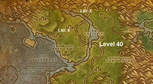 Wow Classic Horde Leveling Guide 40 Stranglethorn Vale