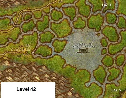 Wow Classic Horde Leveling Guide 42 Swamp Of Sorrows