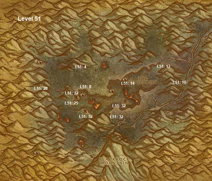 Wow Classic Horde Leveling Guide 51 Searing Gorge