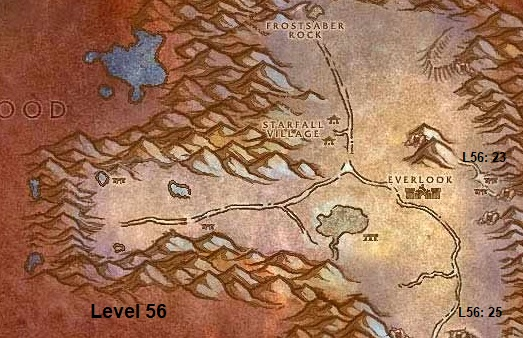 Wow Classic Horde Leveling Guide 56 Winterspring
