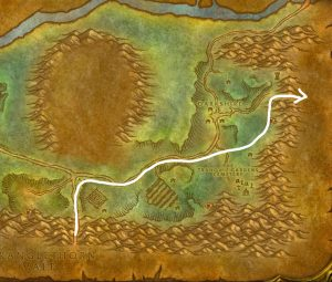 Wow Classic Horde Leveling Guide Stanglethorn Vale To Deadwind Pass