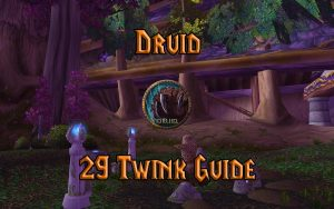 Wow Classic Level 29 Twink Druid Guide